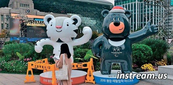 Церемония открытия Олимпийских игр 2018