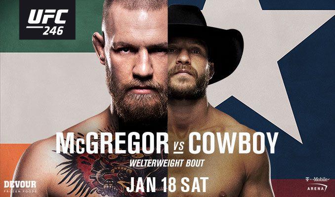 UFC 246 прямая трансляция
