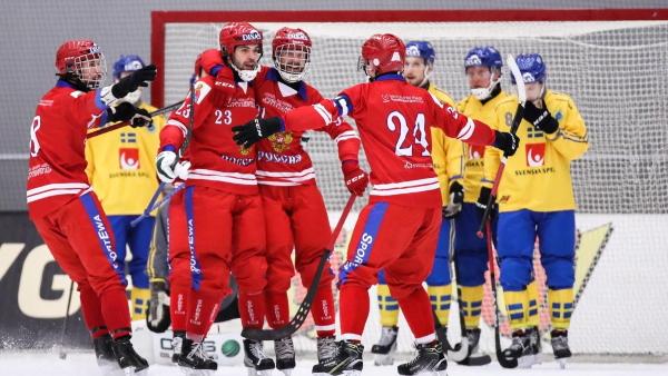 Россия - Швеция хоккей с мячом финал ЧМ смотреть онлайн 5 апреля 2020