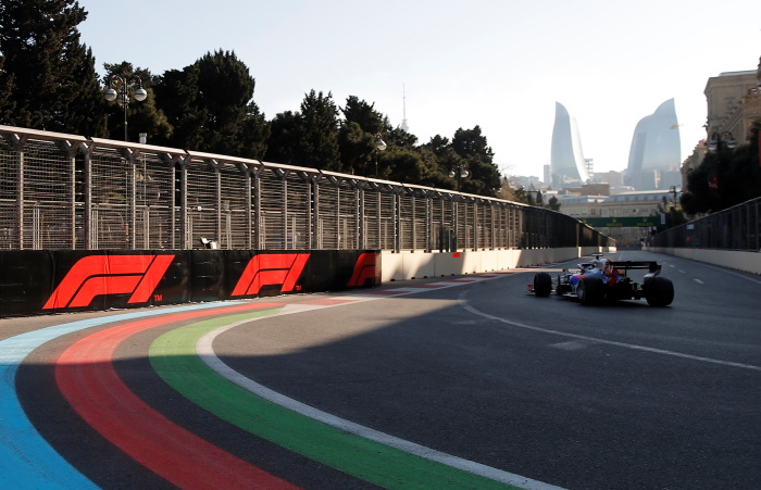 Гран-при Азербайджана проходит по улицам Баку