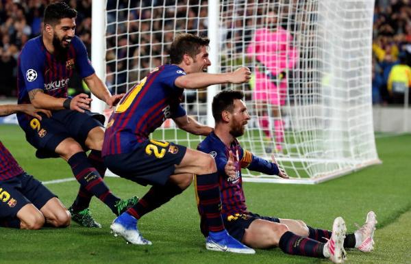 Барселона победитель Лиги Чемпионов 2019